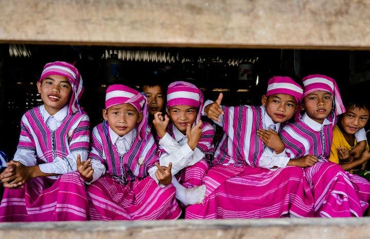 Myanmar children 300dpi