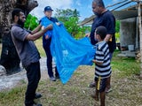 Vanuatu moh nets distribution