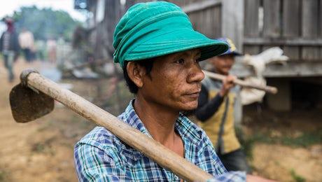 © John Rae, Global Fund, Thailand and Cambodia Border Migrant farmers