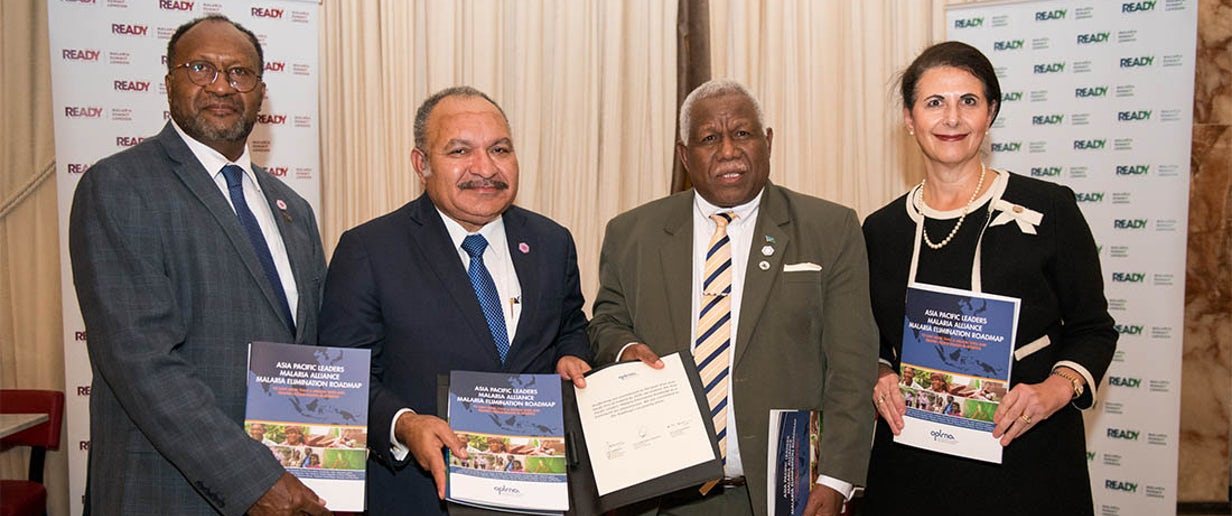 Melanesia leaders