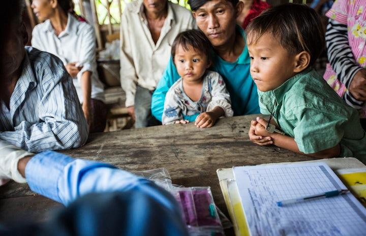Global fund john rae cambodia malaria children